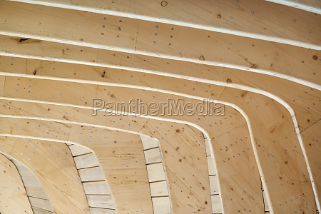 wood house architecture detail shot