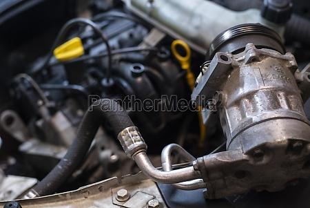 air conditioning compressor car engine