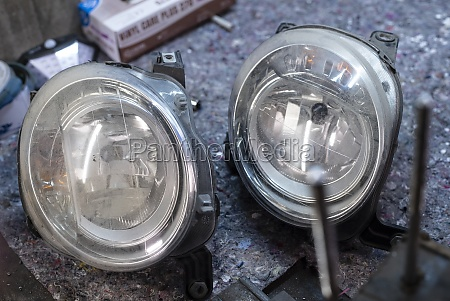 car lights used spare parts 3