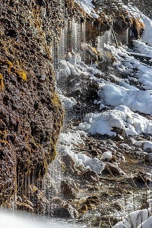 triefen attraction waterfalls in hinterthal austria