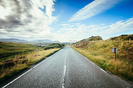 trip or adventure abandoned dramatic road