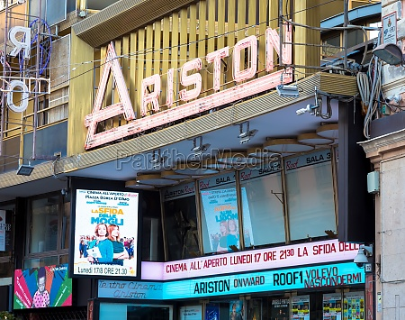 sanremo ariston theatre the famous song