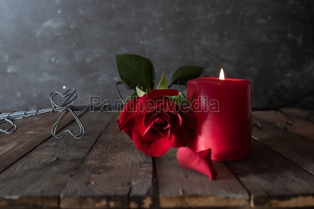 romantic love decoration
