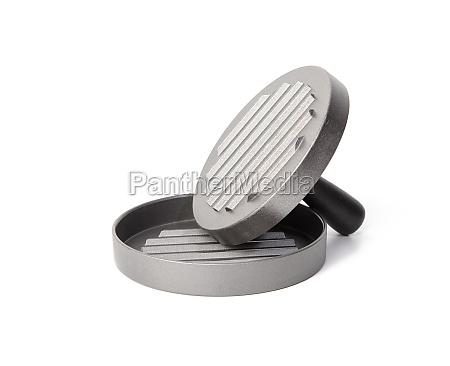 metal press for meat cutlets hamburger