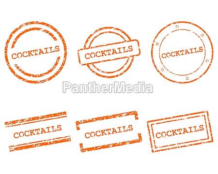 cocktails stamps