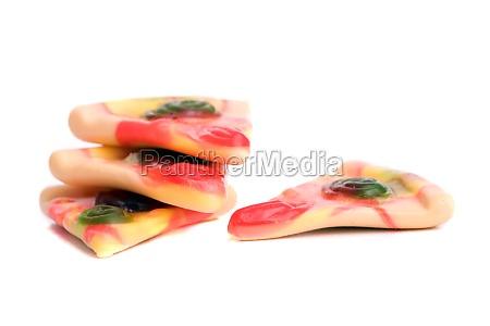 gummy pizza slices