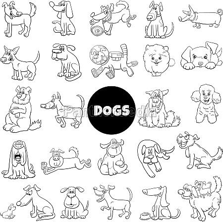 cartoon dogs and puppies comic characters