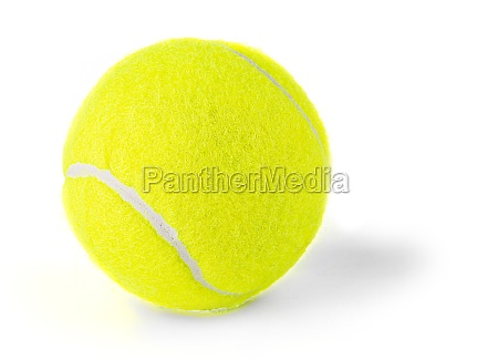 single, tennis, ball, isolated, on, white - 29314423