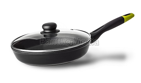 the frying pan with lid with