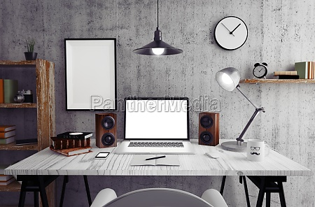 color work space disposition
