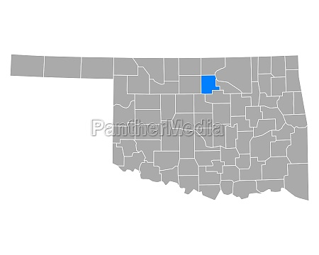map of noble in oklahoma