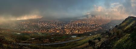 lebanon panoramic view