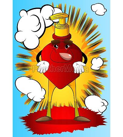 bottle of hand sanitizer expressing dont
