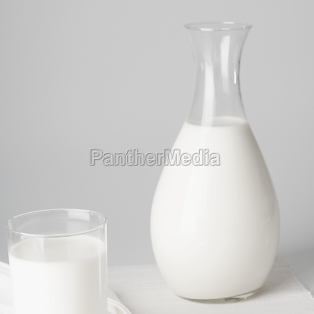 closeup of a jug and a