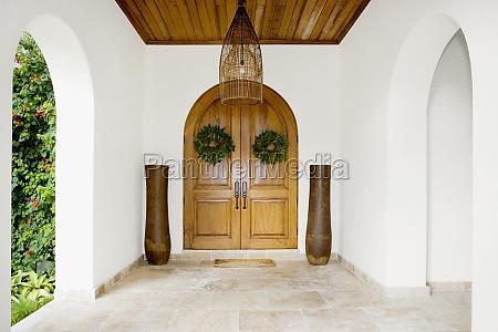 interiors of a corridor