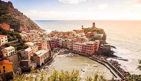 vernazza and doria castle