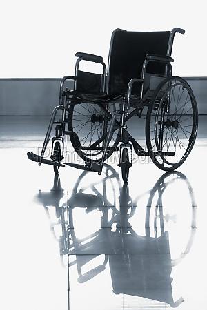 wheelchair in a hospital