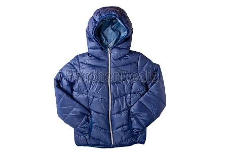 winter jacket isolated a stylish cosy