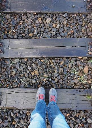 railroad track foot