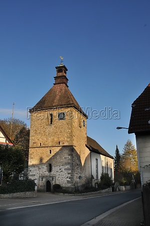st nicolai church in lauenstein