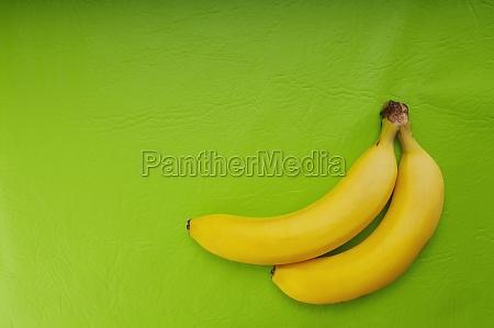 closeup of two bananas