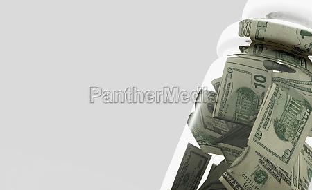 torn us dollar bills