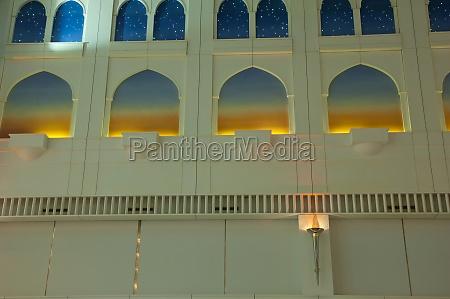 decorative building inside the dubai international