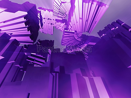 abstract pattern on a purple background