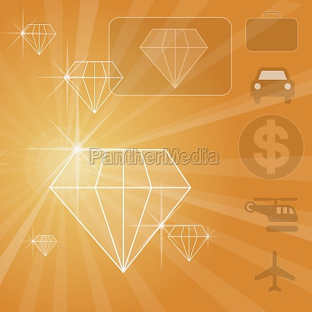 close up of diamond shaped diagrams