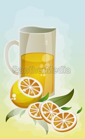 close up of a jug of