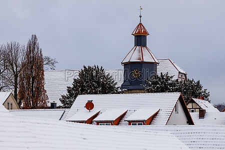 the church of willershausen in germany
