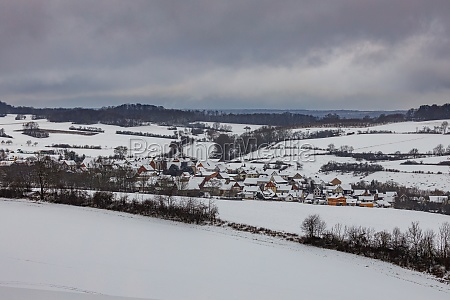 the village of willershausen in germany