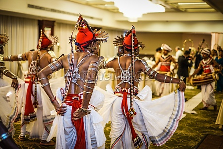 dance of sri lanka wedding
