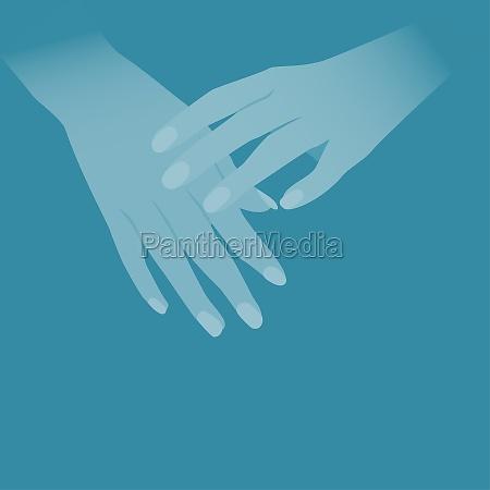personZs hands