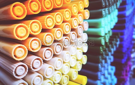 creativity colored pencils in a stationary