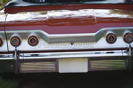 closeup of a car