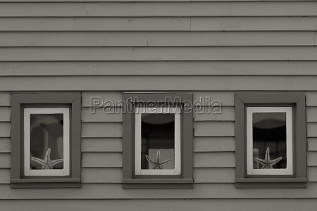 windows of a house