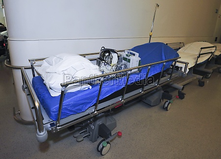 hospital bed in health care