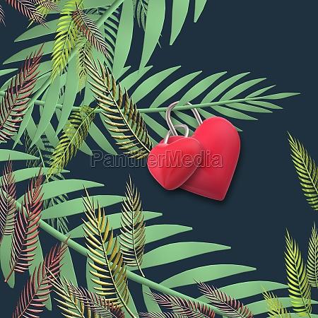 love valentines card design