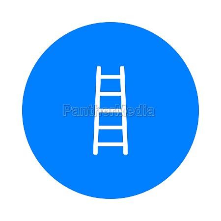 ladder and circle