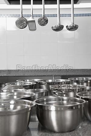 kitchen utensils in the kitchen