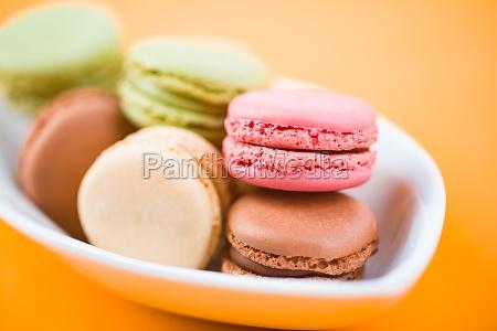 sweet delicous macarons