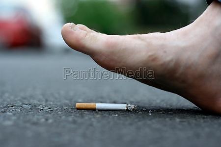 smoking cessation or quitting smoking