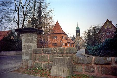 view of schwaig in franken