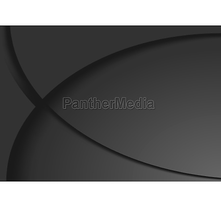 dark abstract background with curved shapes