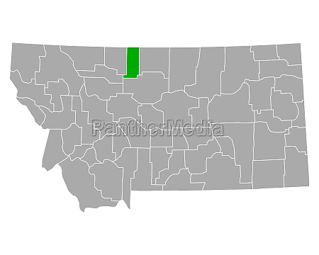 map of liberty in montana