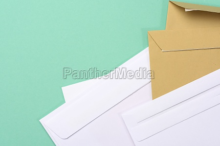 blank white paper brown and white