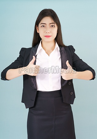 asian business women in suit and