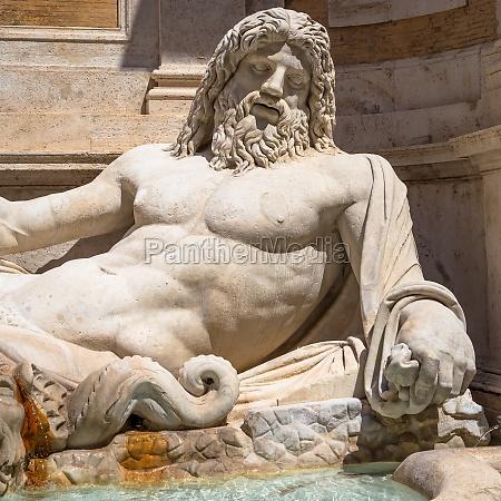 famous greek sculpture of ocean god
