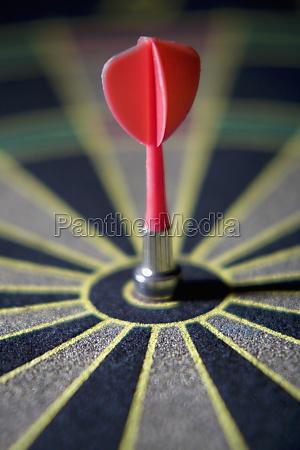 dart in the bullZs eye of